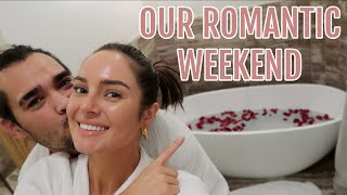 Rose Petals in The Hotel Room! Surprising my Husband by Chloe Morello