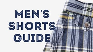 Mens Shorts Guide, DOs & DONTs & How To Look Good In Man Shorts