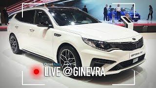 Kia Optima restyling   Salone di Ginevra 2018
