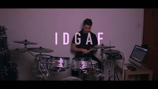 Josh Cameron - 'IDGAF' Dua Lipa - Drum Cover