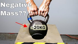 What if You Try To Lift a Negative Mass? Mind-Blowing Physical Impossibility! | Kholo.pk