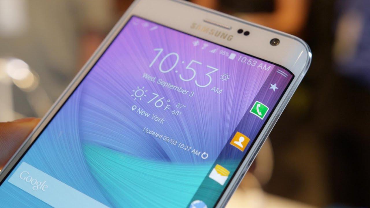 Многочисленные преимущества Galaxy Note Edge над iPhone