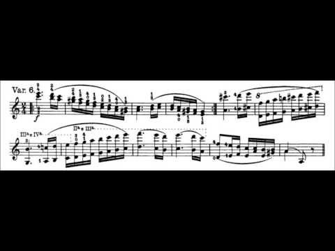 Caprice for Solo Violin, Op. 1 No. 24 (Song) by Niccolo Paganini