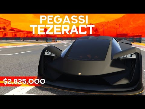 MOST EXPENSIVE CAR IN GTA ONLINE! - $2.8 MILLION TEZERACT