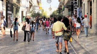 Ermou Street - Athens, Greece
