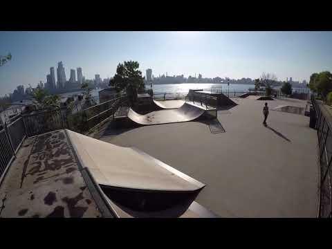 Exploring Castle Point Skatepark in Hoboken NJ