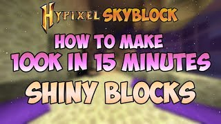 Hypixel Skyblock : HOW TO MAKE 7K COINS A MINUTE *NOT