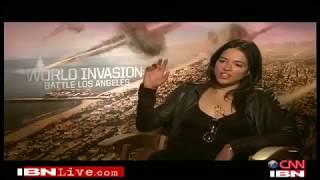 Интервью Мишель Родригес / IBN Live interview Michelle Rodriguez