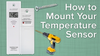 How To Mount Your Temperature Sensor
