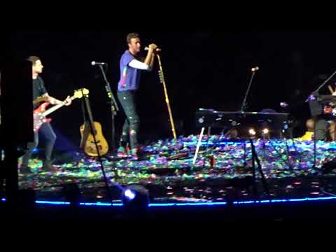 Coldplay - Always In My Head - live - Rose Bowl - Pasadena CA - October 6, 2017