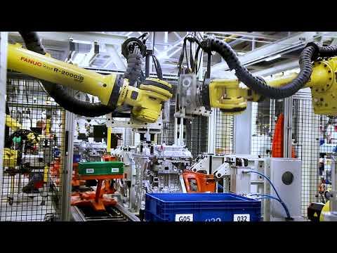 FANUC Collaborative robot assists Opel Szentgotthard's production