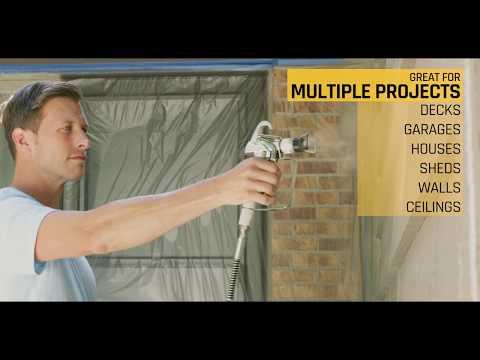 Control Pro 130 Power Tank Paint Sprayer Video