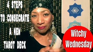 4 Steps to Consecrate a New Tarot Deck | Christian Witch