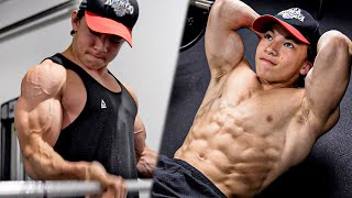 MY ARMS AND ABS WORKOUT! (BICEPS, TRICEPS, SIX PACK) || Tristyn Lee