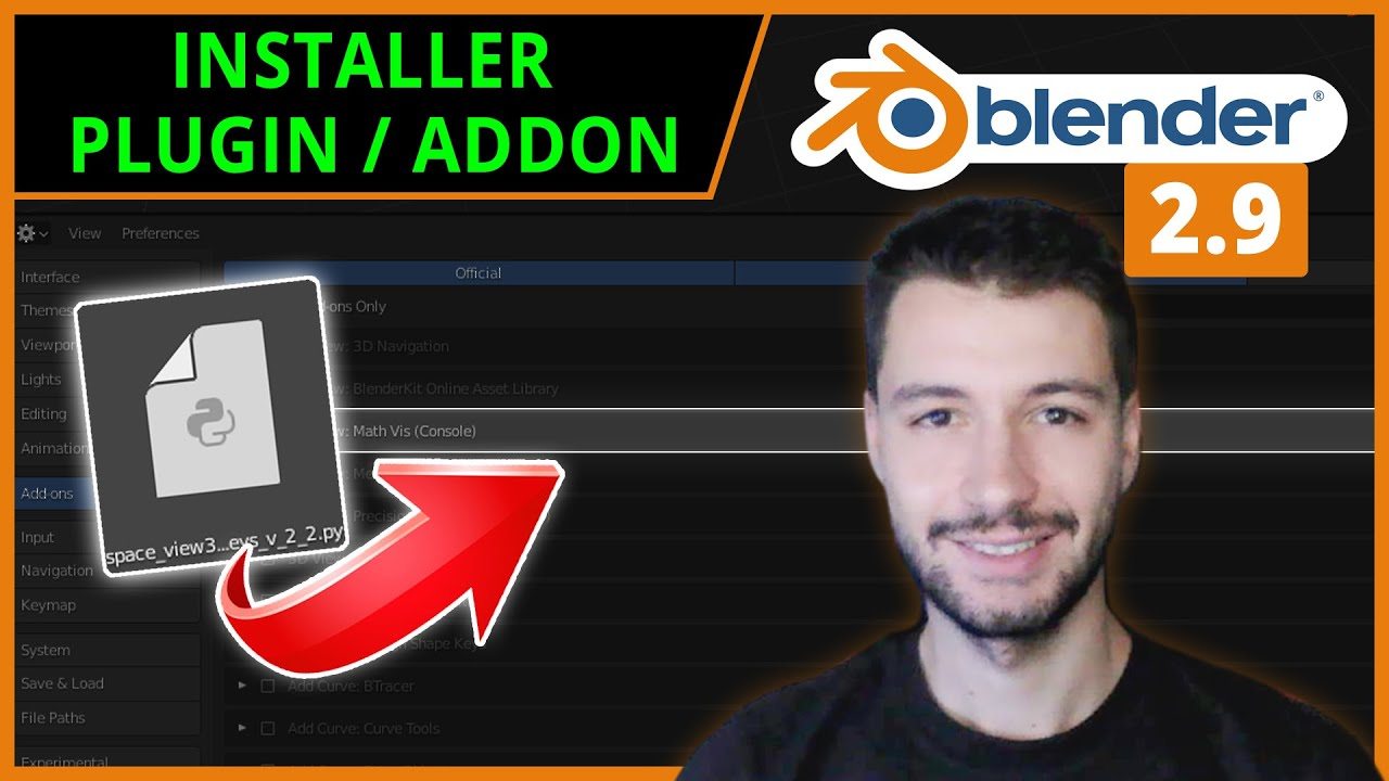 AJOUTER UN PLUG-IN / ADD-ON | Blender 2.9 [TUTO FR]