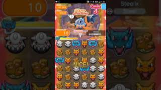 Pokemon Shuffle Mobile UX Stage 663 Steelix『ポケとる スマホ版』