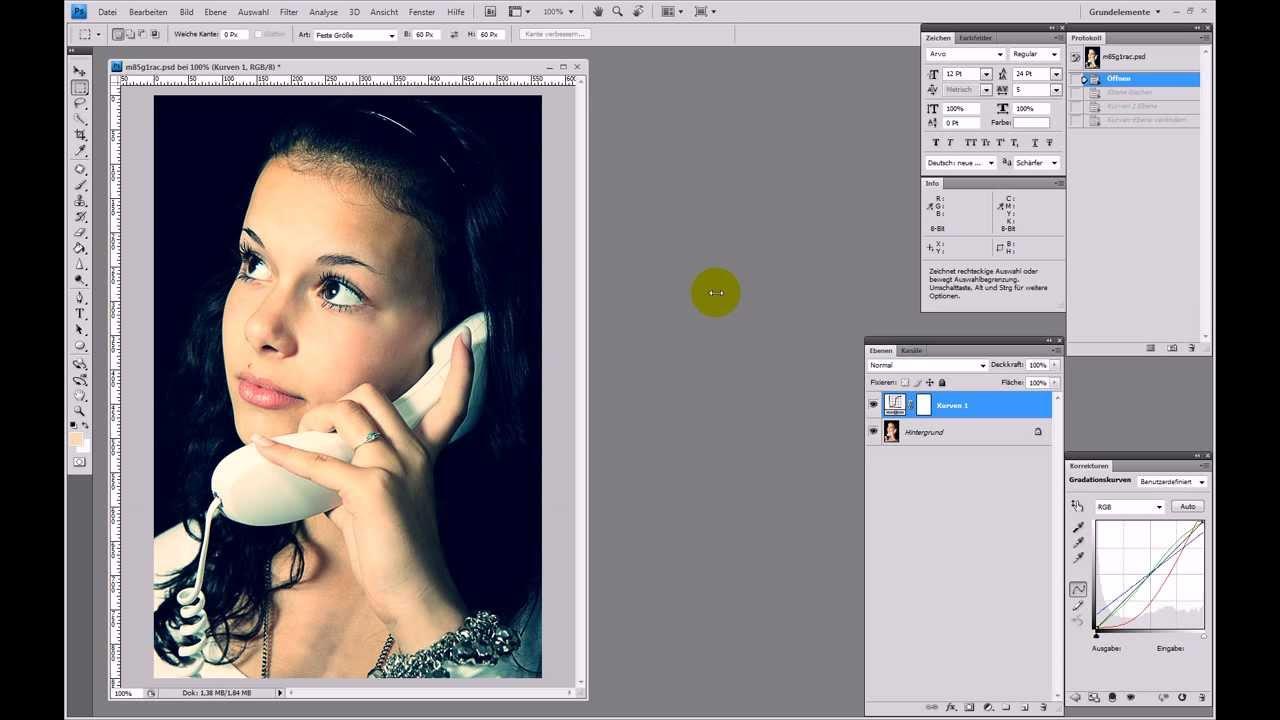 Cross Processing (Cross-Entwicklung) – Photoshop-Tutorial