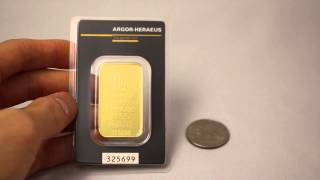 Argor Heraeus 1 Oz Gold Bar