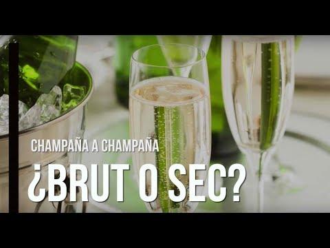 Hay de champagne a champagne, no es lo mismo Brut que Sec.