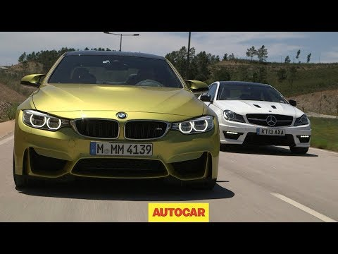 BMW M4 vs Mercedes C63 AMG Challenge