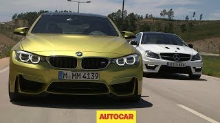 [Autocar] Performance coupes go head-to-head: BMW M4 vs. Mercedes-Benz C63 AMG