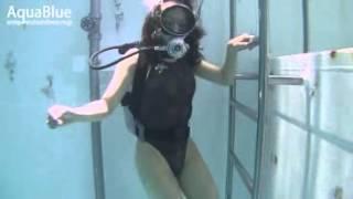 Aya's first dive