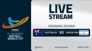 Australia v Argentina - U-18 Men's Softball World Cup 2020 - Opening Round