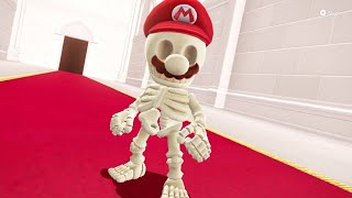 Super Mario Odyssey - Skeleton Mario Vs. Final Boss (9,999 Coins)