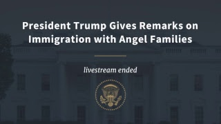 President Trump Gives Remarks on Immigration with Angel Families