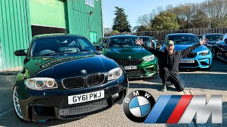 The Best BMW M Car You Can Buy | 1M vs M2 vs M3 vs M5 vs M8 by Supercars of London