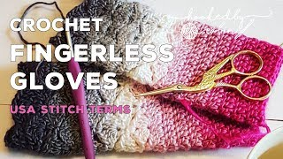 Fantail Shell Stitch Fingerless Gloves (free Pattern) How To Crochet Tutorial | Cygnet Boho Spirit