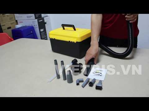 Unbox máy hút bụi mực Trung Quốc Estatoner SVC-220