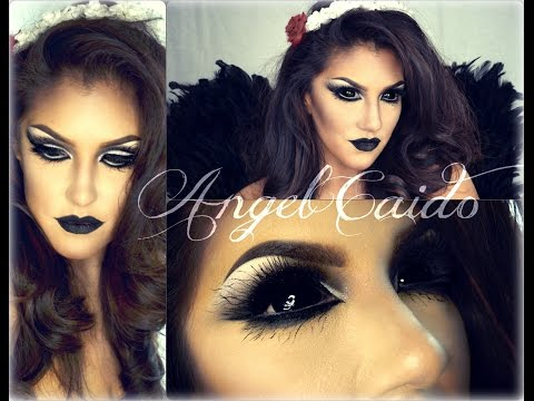 ANGEL CAIDO ( Halloween Tutorial ) KiKiMakeup inspired