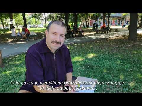 """""""Lesko-grad"""" - društvena igra uz koju se zabavlja i uči o Leskovcu"""