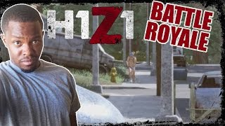 H1Z1 Battle Royale Gameplay - WHAT THE FLUFF PATTY!? | H1Z1 BR Gameplay