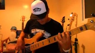 James Brown - Sex Machine (Bass Cover)