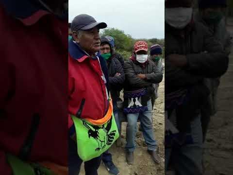 Video: Wichis cortan la ruta de Tartagal por trabajo y viviendas de madera