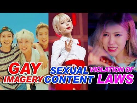 BANNED KPOP Music Videos for Stupid Reasons