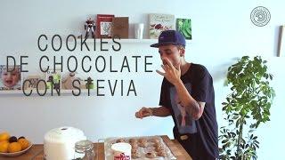 Cookies de chocolate con STEVIA SIN AZÚCAR.  Aptas para diabéticos