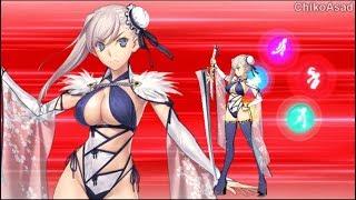 Miyamoto Musashi  - (Fate/Grand Order) - 【FGO】Summer Miyamoto Musashi (Berserker) NP EX Attack Skill | Fate/Grand Order