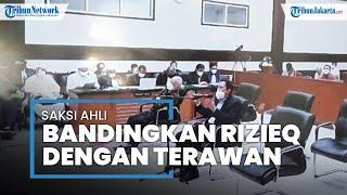 Saksi Bandingkan Dakwaan Berita Bohong Rizieq dengan Ucapan Terawan saat Covid-19 Masuk Indonesia