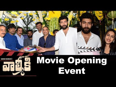 Varun Tej's Valmki Movie Opening Event