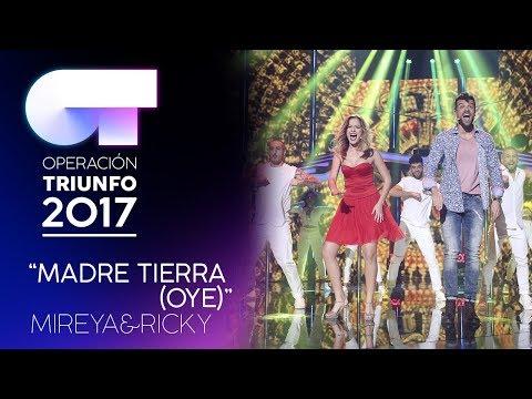 """Madre Tierra"" - Ricky y Mireya   Gala 4   OT 2017"