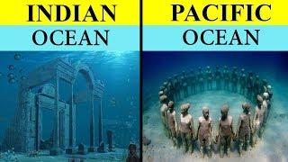 हिन्द महासागर बनाम प्रशांत महासागर | Indian Ocean vs Pacific Ocean Full Ocean Comparison 2020