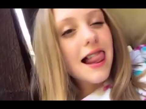 Magical Dancing Tongue of Girl wow Musically TikTok Challenge