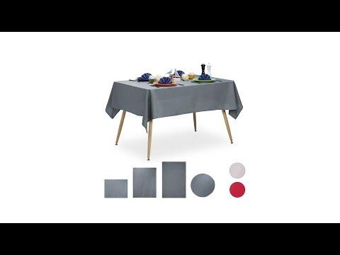 Tischdecke wasserabweisend in 3 Farben