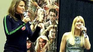 Зена: Королева Войнов, Renee O'Connor and Lucy Lawless Officiall Xena Convention 2011 Part 1