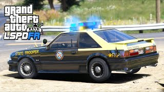 Download GTA 5 Mods - Can RETRO FHP Mustang Keep up with