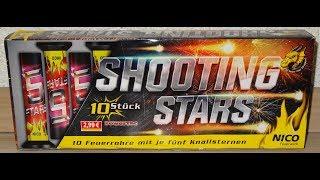 Nico Shooting Stars - kleine Feuertöpfe
