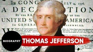 Thomas Jefferson - Author of The Declaration of Indepence & 3rd U.S. President | Mini Bio | BIO